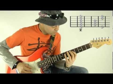 Die am meisten genutzte Skala auf der Gitarre für Solo und Rhythmus