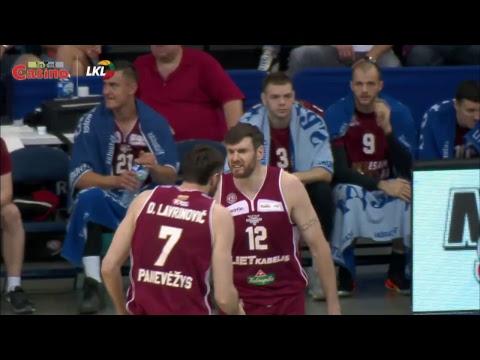 """LKL rungtynės: Panevėžio """"Lietkabelis"""" - Kauno """"Žalgiris"""" [2017-06-06]"""