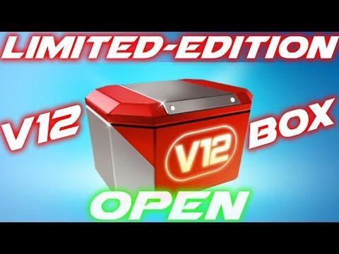 Asphalt 8 Limited-Edition V12 Engine (grants 10 engine cards) open