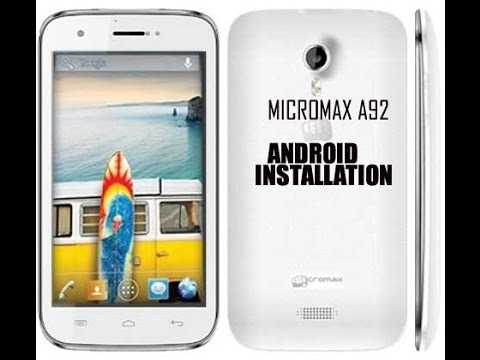 timeless design 51850 9915e How to Flash Micromax A92