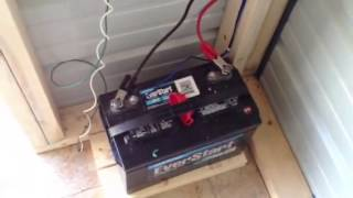 My small solar setup