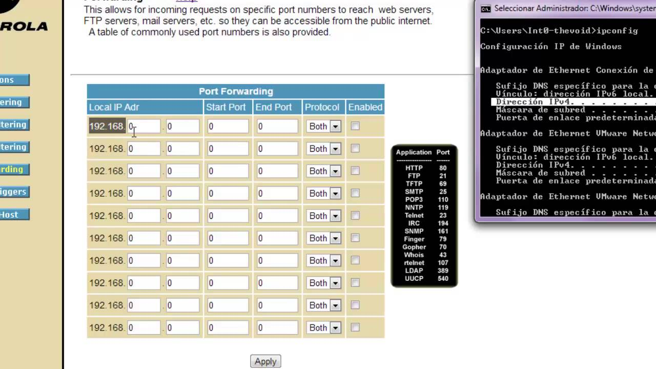 Configurar router vtr youtube for Rollit motors mesa az
