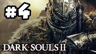 Dark Souls 2 Walkthrough PART 4 - White Knight!! Let