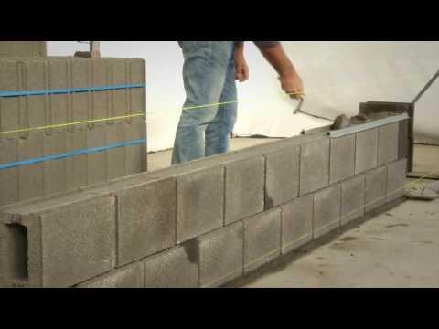 Construction Maçonnerie Mur Bloc STATOBLOC/Faux Joint/Dosage Mortier-Roosens Bétons