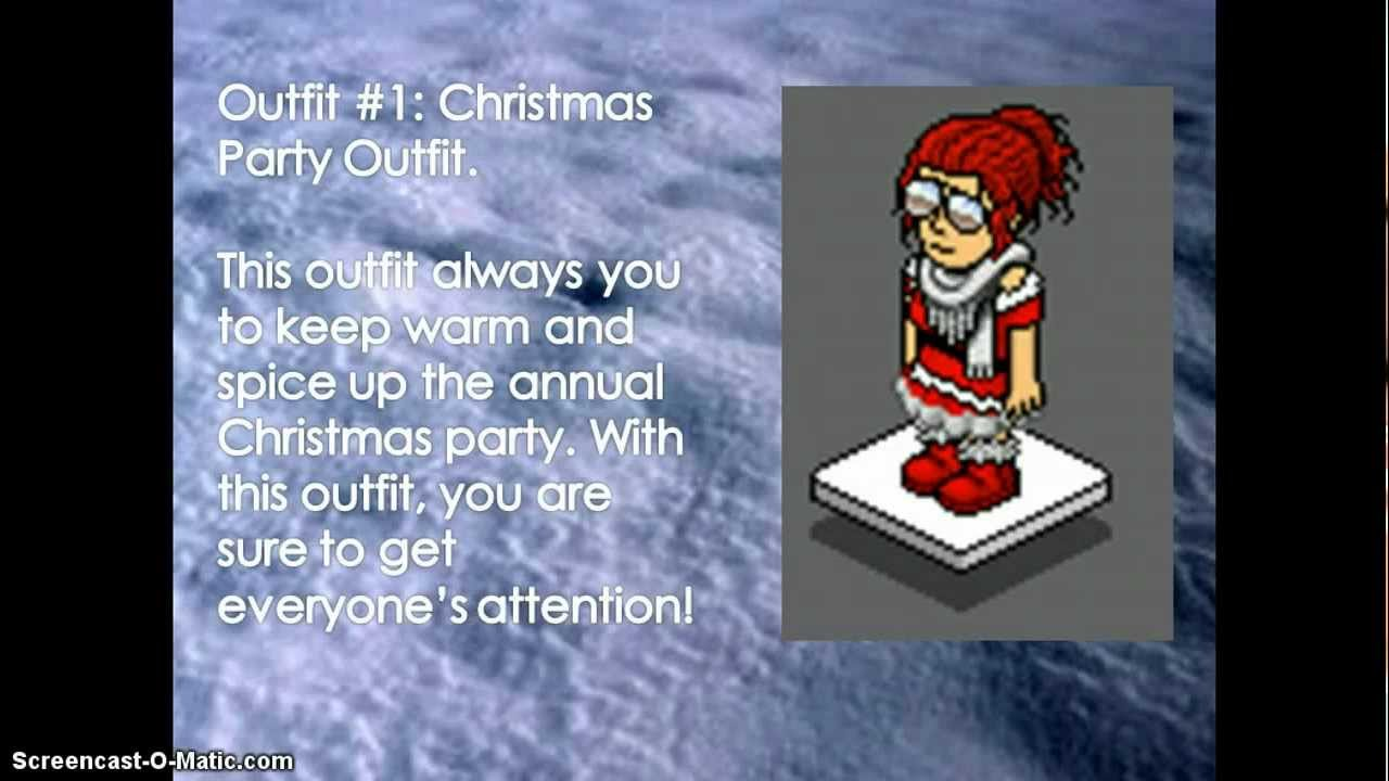 Christmas Habbo Outfits 2012 - YouTube