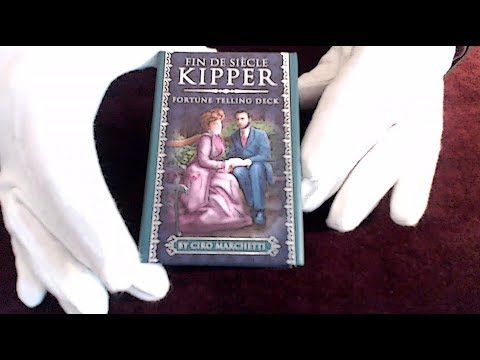 Fin De Siècle Kipper - Fortune Telling Deck By Ciro Marchetti - 39 Oracle Cards