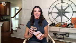 Miz Mooz Leather Heeled Sandals - Cassie on QVC