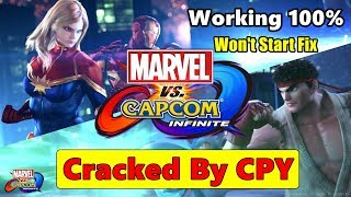 Marvel Vs Capcom Infinite Cracked By CPY | CPY Crack 100% Working