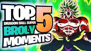 TOP 5 BEST Moments From The NEW Dragon Ball Super: Broly Movie! DBS