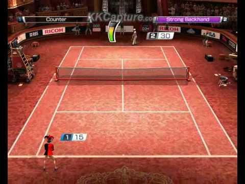 how to unlock king in virtua tennis 4
