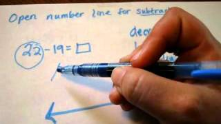 Open Number Line Basics