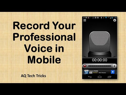 Record Your Best Voice on Your Mobile in Hindi/Urdu - Echo Sound - AQ TechTricks