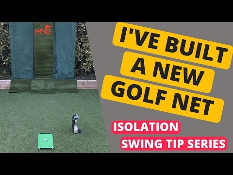 I've Built My Own Golf Net + The Perfect Golf Mat For Home