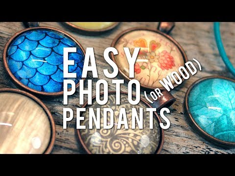 Make Glass Photo Pendants – EASY How-To Cabochon Necklace