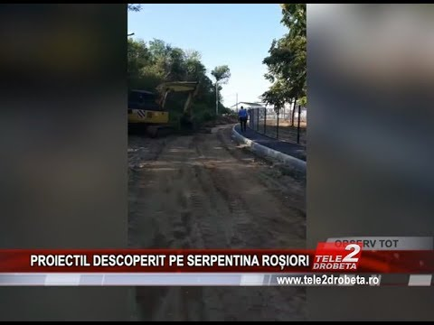 PROIECTIL DESCOPERIT PE SERPENTINA ROȘIORI