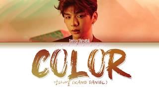 강다니엘 (KANG DANIEL) - COLOR (Color Coded Lyrics Eng/Rom/Han/가사)