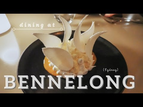 Sydney Opera House Bennelong / Fine Dining / Where To Eat Fancy In Sydney