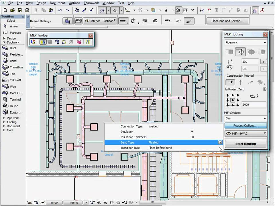 graphisoft mep modeler - mep modeling tools 3 - mep ... electrical plan in archicad electrical plan book