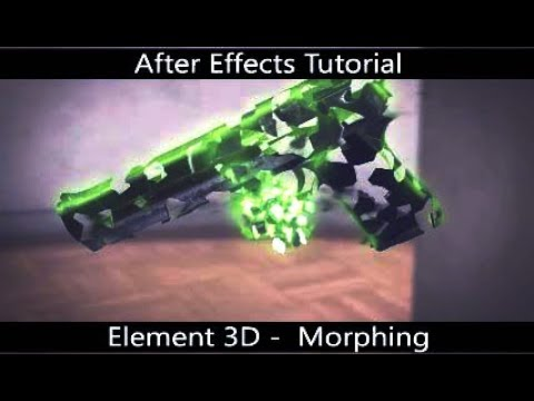 After Effects Tutorial  || Element 3D : Creating Amazing Morphing Animation (ID)