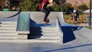 HOW TO OLLIE A 5 STAIR THE EASIEST WAY TUTORIAL