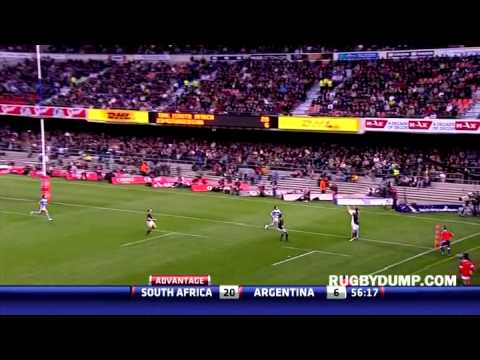 South Africa vs Argentina highlights - Rugby Championship 2012 - Newlands
