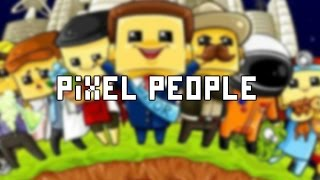 Pixel People - iPhone, iPad Air, Mini Retina Gameplay HD App Review InGame