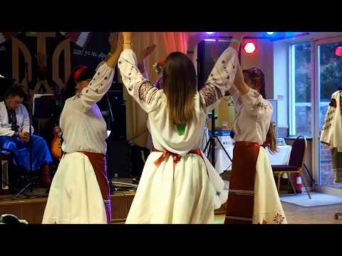 Ukrainian Dance Ensemble Mandriwka at Ukrainian Independence Day celebration in Gloucester