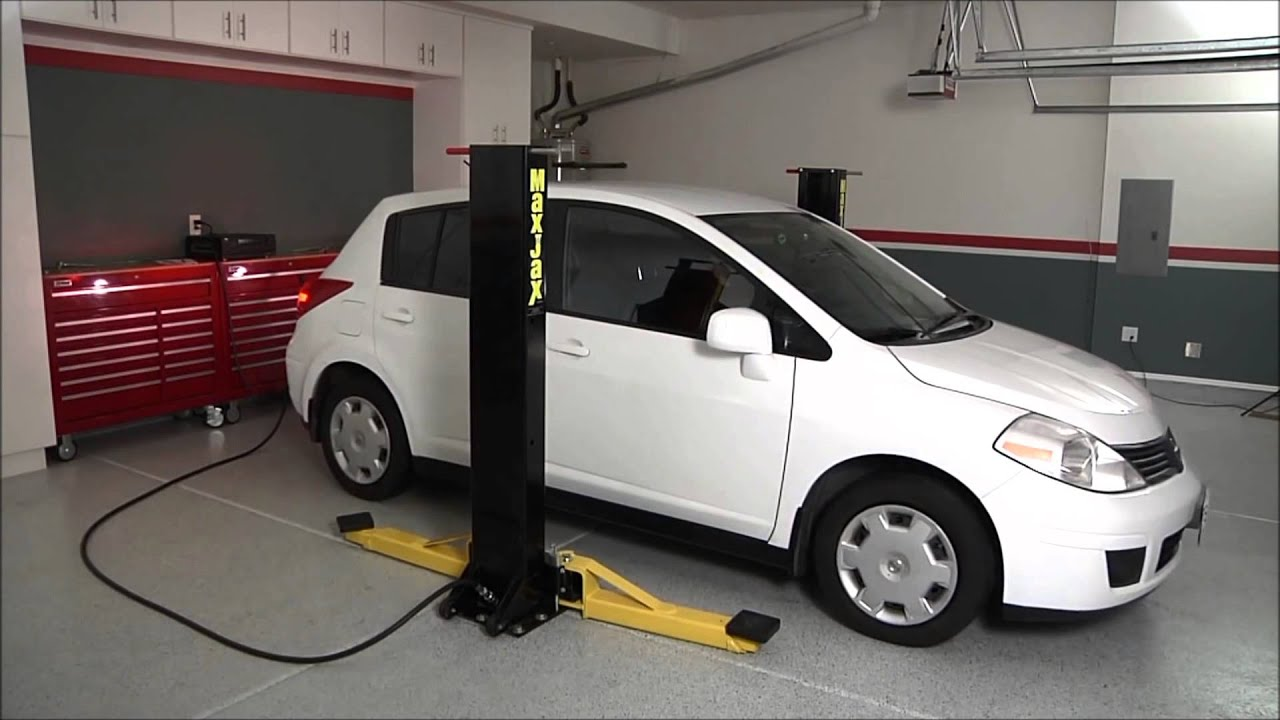 Dannmar Maxjax - The Perfect Lift for your Garage