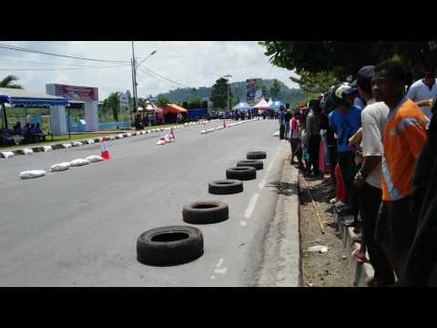 Satlantas Open Drag Bike Biak Papua 09-2015