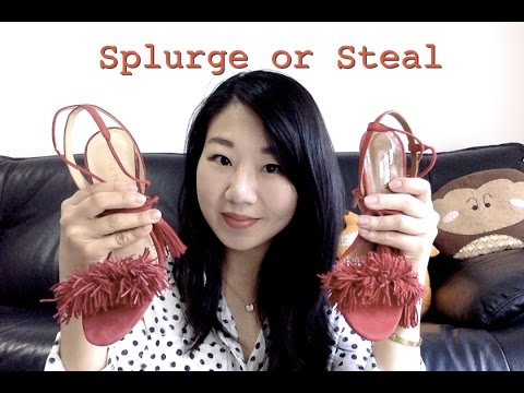 Splurge or Steal Aquazzura Wild Thing vs Ivanka Trump Hettie Review