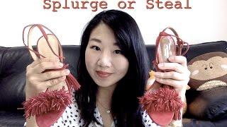 Splurge or Steal Aquazzura Wild Thing vs Ivanka Trump Hettie Review