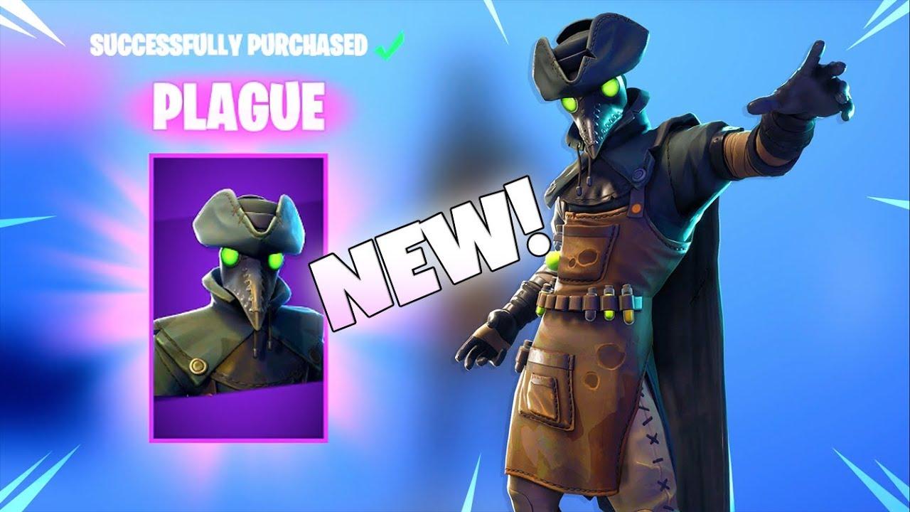 New plague scourge skins new item shop fortnite battle royale youtube - Fortnite plague skin ...