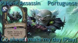 Patient Assassin card sounds in 12 languages -Hearthstone✔