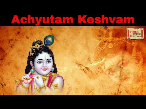 Achyutam Keshavam (Full Video)   Krishna Bhajan   Jyotsna Radhakrishnan   Times Music Spiritual