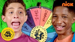 Lex & Ryan Take the Wheel of Impressions Challenge! 😎 All That