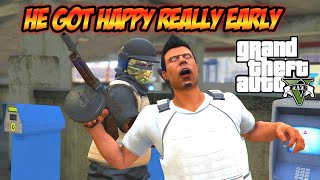 this tryhard got happy too early GTA V online