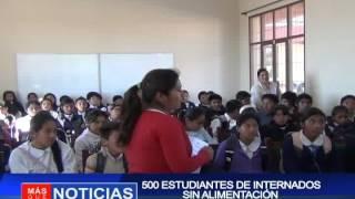 500 estudiantes de internados sin alimentación