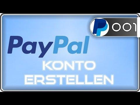 Paypal Konto erstellen mit & ohne Bankkonto