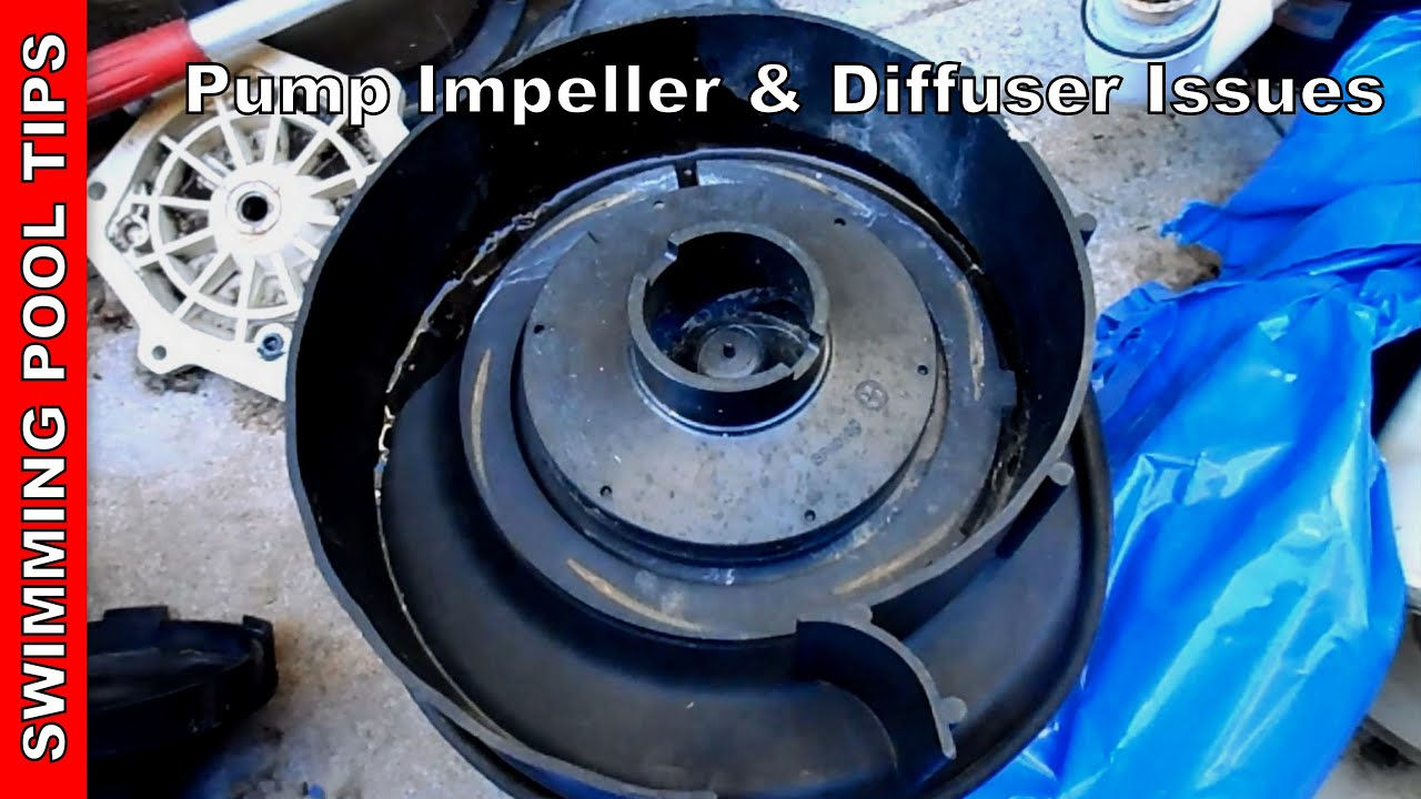 well pump not priming molex to 6 pin wiring diagram impeller diffuser issues pool part youtube