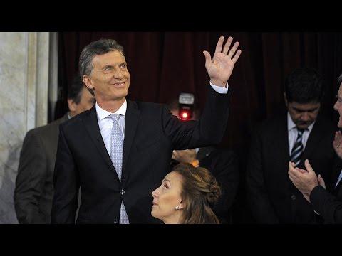 (video) MACRI JURÓ Y DIO SU PRIMER MENSAJE COMO NUEVO PRESIDENTE. PIDIÓ COMBATIR LA CORRUPCIÓN Y UNIR A TODOS