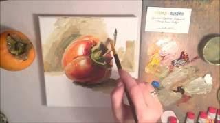 Мини-урок по масляной живописи от Марии Павловой. Teacher's Challenge