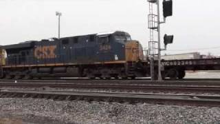 CSX Yard Operations Garrett Indiana