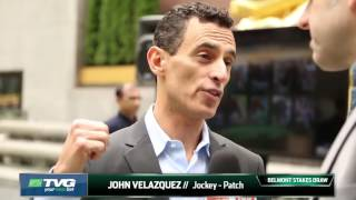 Belmont Stakes 2017  - John Velazquez