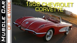1958 Chevrolet Corvette Muscle Car Of The Week Episode 276 V8TV