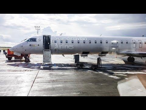 SAS PLUS Premium Class onboard CRJ-900 | Copenhagen to Hamburg