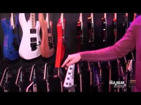 Long & McQuade @ NAMM 2016: Jackson Guitars