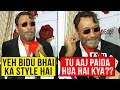 Jackie Shroff TEACHES A Male Reporter About STYLING And Personality