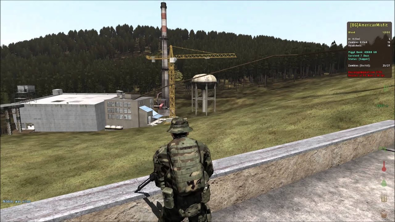 Arma 2 Dayz Mod Piggd Sauerland Base Progress 2 Youtube