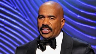 Steve Harvey Gives Tearful Goodbye to Staff After Memo Leak