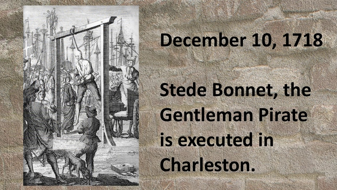 Charleston Pirate Hangings